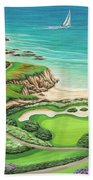 Newport Coast Beach Towel