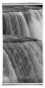 Niagara Falls Closeup Box Camera Effect Beach Towel