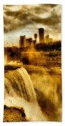Niagara Falls Beach Towel