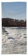 Niagara Rapids Beach Towel