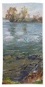 Niagara River Spring 2013 Beach Towel