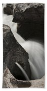 Nigel Creek Waterfall Detail Beach Towel