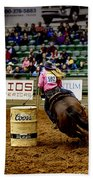 Night At The Rodeo V23 Beach Towel