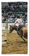 Night At The Rodeo V25 Beach Towel