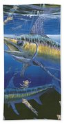 Night Broadbill Off0068 Beach Towel