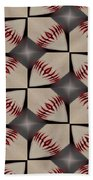 Night Game Beach Towel