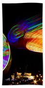 Night Lights Beach Towel