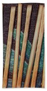Night On The Bread Stick Planet Beach Towel