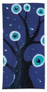 Night Sentry Beach Towel