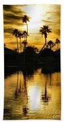 Nightfall Beach Towel