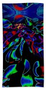 Nightly Expression Of Rhythms Beach Towel