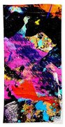 Nighttown Xii Beach Towel