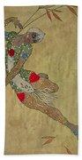 Nijinsky In 'le Festin/ L'oiseau D'or' Beach Sheet