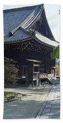Ninna-ji Temple Compound - Kyoto Japan Beach Towel