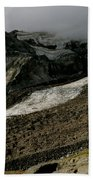 Nisqually Glacier Beach Towel