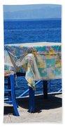 Nisyros Taverna Beach Towel