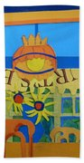 Nj Sunflowers Beach Towel