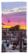 Nj's Sunset Beach Towel