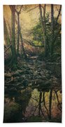 No Matter How Far Beach Towel by Laurie Search