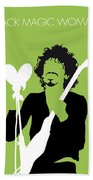 No046 My Santana Minimal Music Poster Beach Towel