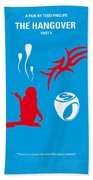 No145 My The Hangover Part 2 Minimal Movie Poster Beach Towel