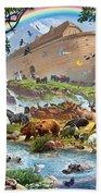 Noahs Ark - The Homecoming Beach Towel by Steve Crisp