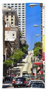 Nob Hill - San Francisco Beach Towel