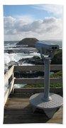 The Nobbies Outlook - Great Ocean Road, Australia Beach Towel
