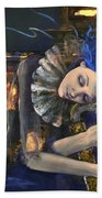 Nocturne Beach Towel by Dorina  Costras