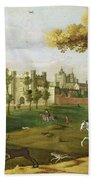 Nonsuch Palace In The Time Of King Beach Towel