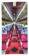 Norfolk And Western Passenger Coach Beach Towel