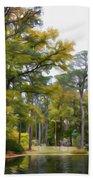 Norfolk Botanical Garden 6 Beach Towel