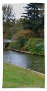 Norfolk Botanical Gardens Canal 3 Beach Towel