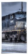 Norfolk Southern #8960 Engine II Beach Towel