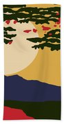 North American Landscape Beach Towel