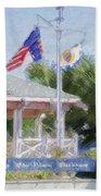 North Carolina Maritime Museums Beach Towel