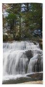 North Carolina Waterfall Beach Towel