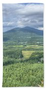 North Conway Vista Beach Towel