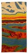 North Creek Byrds Beach Towel