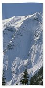 1m4443-north Face Of Big Four Mountain Beach Towel