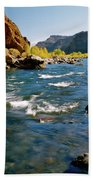 North Fork Of The Shoshone River Beach Towel