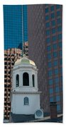 North Meeting Place And Echange Place Beach Towel