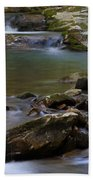 North Prong Of Flat Fork Creek Beach Towel