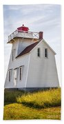 North Rustico Lighthouse Beach Towel
