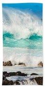 North Shore Crash Beach Towel