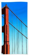 North Tower Golden Gate Beach Towel