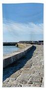 North Wall - Lyme Regis Harbour 2 Beach Towel