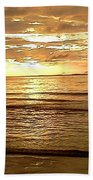 Northern Ireland Sunset Beach Towel