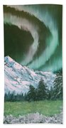 Northern Lights - Alaska Beach Towel