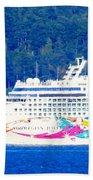 Norwegian Jewel Cruise Ship Beach Towel